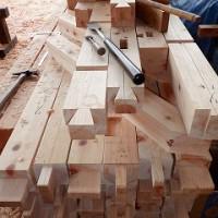 木造墨付け・刻み