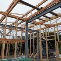 新築倉庫工事の状況報告