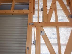 新築倉庫の工事