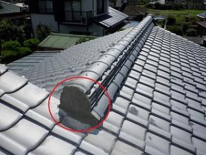 屋根の雨漏り・状況確認