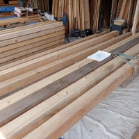 新築の木材加工