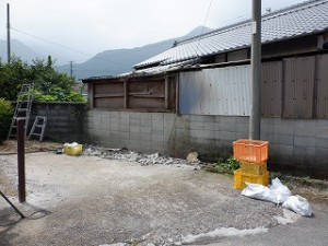 倉庫・車庫の解体撤去