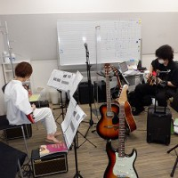 ギターレッスンでコラボ・セクション