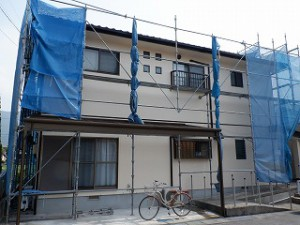 耐震補強と外壁塗装工事