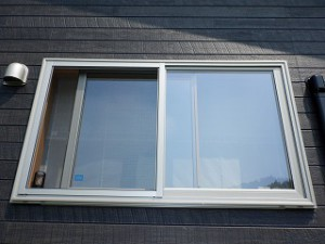 窓の格子を造る