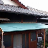 玄関の出入り庇修理