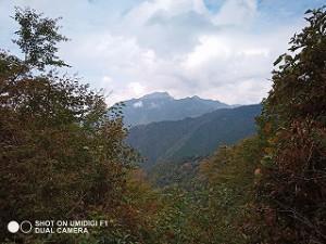 石鎚山系・四国山脈