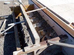 新築住宅の建前・上棟の準備工事