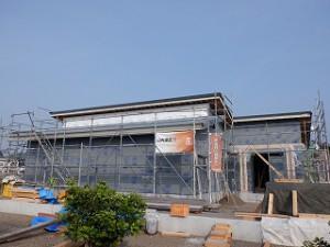 平屋建て新築住宅