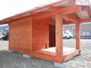 犬小屋の造り