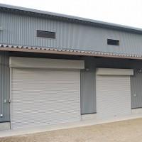 新築倉庫の完成