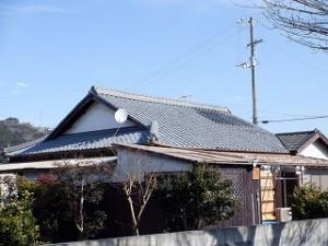 屋根瓦の葺替え工事