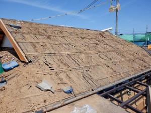 屋根瓦葺替え工事