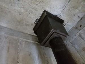 スラブ軒天雨漏り修理