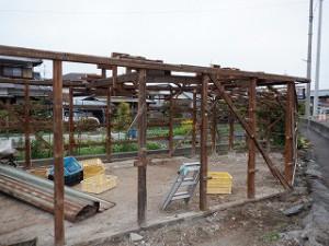 倉庫・車庫の建替え