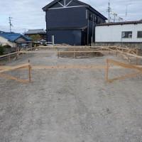 平屋建て新築工事