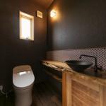変杢カウンター トイレ