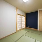 畳敷き寝室