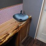 変杢カウンター・手洗い器
