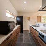 床樹脂タイル キッチン