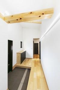 平屋建て新築住宅の完成