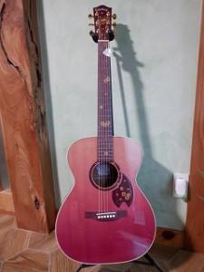 ギターレッスン ヘッドウェイ桜ギター