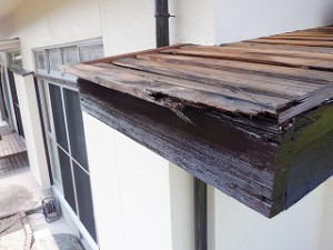 外壁塗装工事と修繕修理