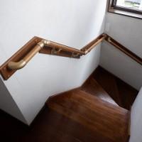 階段手摺り取付
