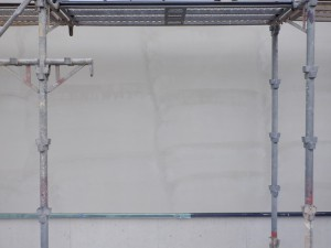 新築外壁モルタル仕上げ
