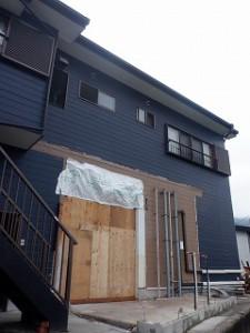 店舗併用住宅の改装工事