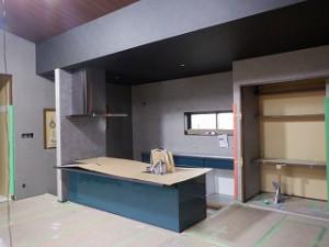 新築工事の内装施工