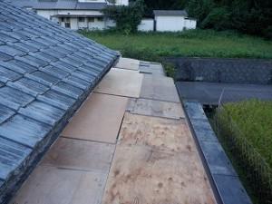 屋根瓦葺き替え